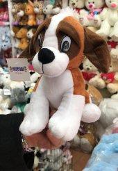 24cm Sevimli Oturan Köpek Tommy Peluş Oyuncak Peluşcu Baba