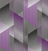 Anka 1617 3 Mor Geometrik Desenli Duvar Kağıdı