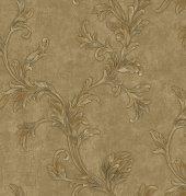 Gordion 2618-3 Vinil Çiçek Desenli Duvar Kağıdı