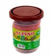 Alpino Oyun Hamuru Tek Renk 130gr Kahverengi