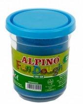 Alpino Oyun Hamuru Tek Renk 130gr Mavi