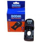 Zoom Mini Pil Şarj Makinası