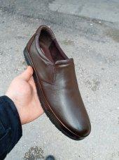 New Prato Erkek Ayakkabı 1453 Kahve Antik Deri