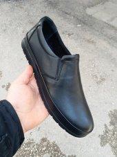 New Prato Erkek Ayakkabı 1453 Siyah Antik Deri