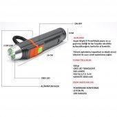 Fbı F 903 Powerbank+ El Feneri Şarjlı
