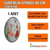 Portatif Güvenlik Aynası Cam 40 Cm (1 Adet)