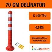Esnek Şerit Ayırıcı Delinatör 70 Cm (1 Adet)