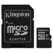 Kingston 32gb Micro Sdhc Uhs 1 Cl10 Sdcs 32gb