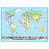 Dünya Siyasi Haritası 200 Parça Puzzle