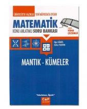 Matematik Mantık Kümeler Konu Anlatımlı Soru Bankası (Çap Yayınla