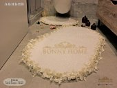 Bonny Home 2li Banyo Paspas Halısı Klozet Takımı(Ücretsiz Kargo)