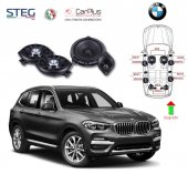 BMW X3 Serisi STEG İtaly Hoparlör Kiti