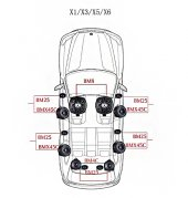 BMW X5 Serisi STEG Italy Sound System FULL PAKET-3