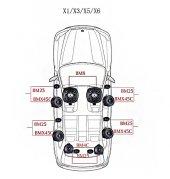 BMW X3 Serisi STEG Italy Sound System FULL PAKET-3