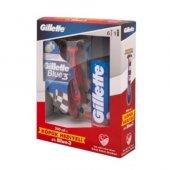 Gillette Blue 3 Kullan At 6 Adet + Tıraş Köpüğü 200 ml