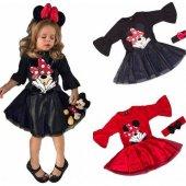 Minnie Mouse Elbise Günlük Kullanım 1.kalite...