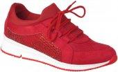 Su Perisi Ortopedi Kırmızı Günlük Bayan Spor Ayakkabı (36-40)