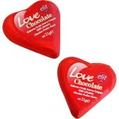 Happyland Sevgiliye Kalp Sütlü Çikolata 21gr 2 Adetkırmızı