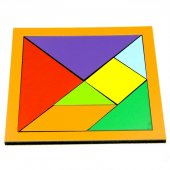 Redka Renkli Tangram Oyunu-4