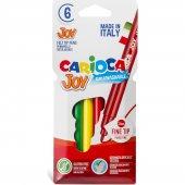 Carioca Joy Süper Yıkanabilir Keçeli Boya Kalemi 6...