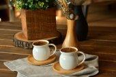 Ms Morry Porselen Bambu 6lı Kahve Fincan Takımı...