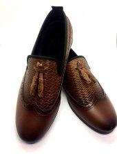 Erkek Yaz Sezonu Püsükülü Ve Desenli Ayakkabı