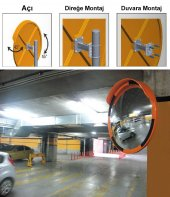 Trafik Güvenlik Aynası 60 cm-3