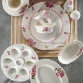 Kütahya Porselen Bone Olympos 36 Parça 6 Kişilik Porselen Kahvaltı Takımı