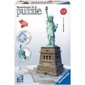 Ravensburger 3 Boyutlu Plastik Puzzle Özgürlük Anı...