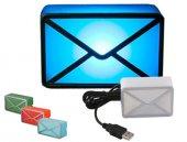 USB Girişli E-Mail Habercisi Masa Lambası-4