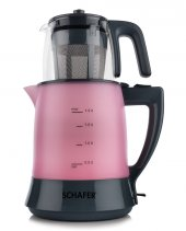 Schafer Teefan Elektrikli Çay Makinası Pembe