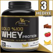 Torq Nutrition Gold %100 Whey Protein Tozu 2300 Gr - 3 Aroma Seçeneği-3