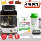 Torq Nutrition Gold %100 Whey Protein Tozu 1000 Gr + Thermogenic L-Carnitine Shot 3000 mg 8 Adet