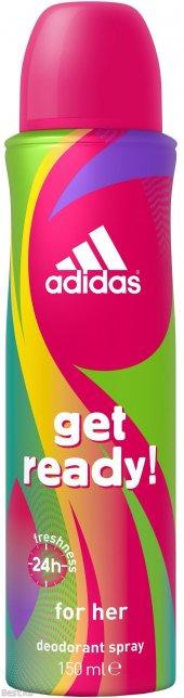Adidas Get Ready Deo Spray 150 Ml.
