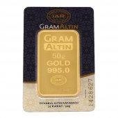 50 Gram Külçe Altın 24 Ayar