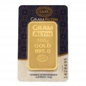 100 Gram Külçe Altın 24 Ayar