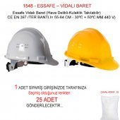 Ge 1548 Sarı Essafe Ayarlı Baret Ce Belgeli 1...