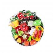 Cut Fruit Oyuncak Sebze Meyve Kesme Seti 1 Adet Kesme Tahtalı 1