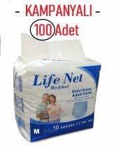 Life Net Süper Emici Külotlu Hasta Yetişkin Alt Bezi Külodu 100 Adet Medium Orta Boy Beden
