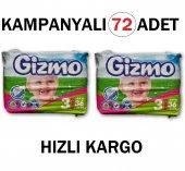 Gizmo 3 Numara 4 9 Kg Bebek Bezi 72 Adet Kampanya En Ucuz Uygun Fiyatı