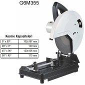Attlas G6m355 355 Mm Profil Kesme Makinesi
