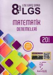 Karekök 8. Sınıf Lgs Matematik Denemeleri