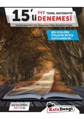 Kafa Dengi Yayınları Tyt Matematik 15 Li Denemesi...