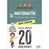 Editör Lgs Matematik Çözümlü 20 Branş Denemesi