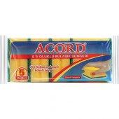 öz Ka Acord 5 Li Oluklu Bulaşık Süngeri 3 Paket
