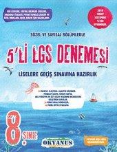 8. Sınıf 5li Lgs Denemesi Okyanus Yayınları