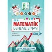8. Sınıf Omage Matematik 12 Deneme Sınavı (7 Sarmal + 5 Genel)