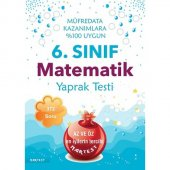 Nartest 6. Sınıf Matematik Yaprak Testi 2018 Yeni ...
