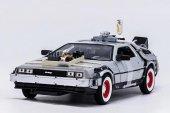 Geleceğe Dönüş Arabası Seri 3 Metal Model Araba Back To The Futur-2