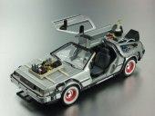 Geleceğe Dönüş Arabası Seri 3 Metal Model Araba Back To The Futur-5